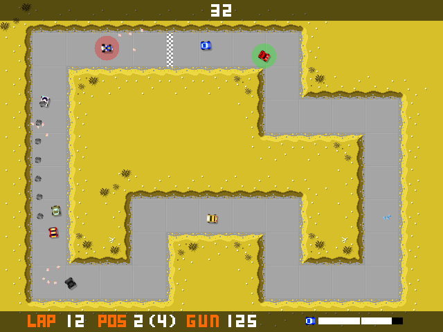 Battletrack screenshot