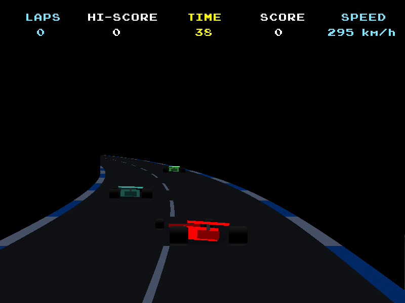 GrandPrix Retro Style Racing Game with Source BlitzMax